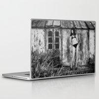 bikini Laptop & iPad Skins featuring Black Bikini. by davehare