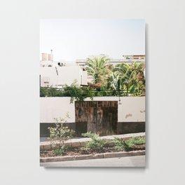 Botanical backyard Ibiza Spain | Lush greenery | Wanderlust Travel photography Metal Print