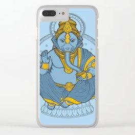Alienphant Clear iPhone Case