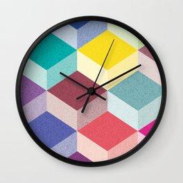 Cubism Wall Clock