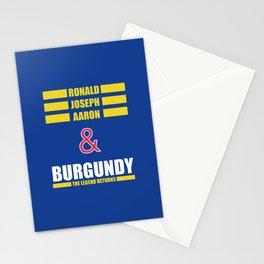 Ronald Joseph Aaron Burgundy - The Legend Returns Stationery Cards
