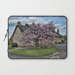 Ashby St Ledgers thatched cottages Laptop Sleeve
