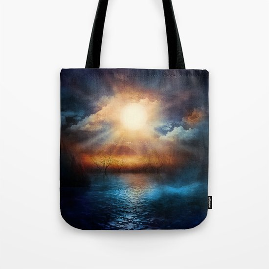 When the sun speaks Tote Bag