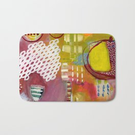Jellyfish Garden Bath Mat