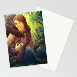 Dian Fossey Stationery Cards