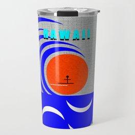 Hawaii stick man design A Travel Mug