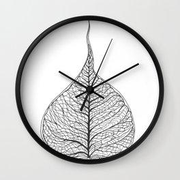 Ficus Religiosa Wall Clock