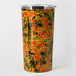 Golden Red Travel Mug