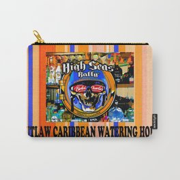 SKULL OUTLAW CARIBBEAN SALOON AND BAR Carry-All Pouch