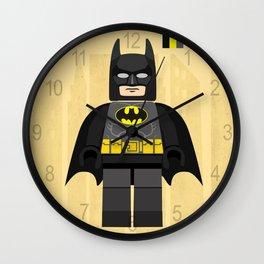 Batman,LegoSuperhero LegoBatman styled Mini Figure Wall Clock
