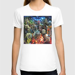 iron maiden tour 2020 2021 hammer oneng T-shirt