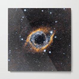 The Eye of the Universe Metal Print