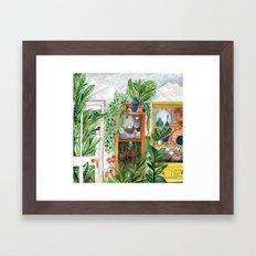 The Jungle Room Framed Art Print