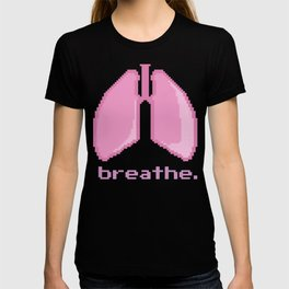 Breathe. Pixelated Lungs T-shirt