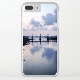 Donostia Reflections Clear iPhone Case