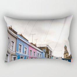 Dreamy Sky over Notting Hill, London Rectangular Pillow