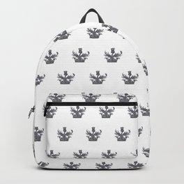 Watercolor Outlander Crown & Thistle Backpack