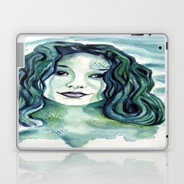 Maybe I'm A Mermaid (Tori Amos inspired art) Laptop & iPad Skin