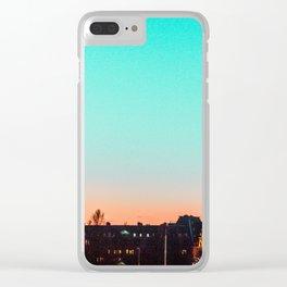 g r a d i e n t s k y . p p t Clear iPhone Case