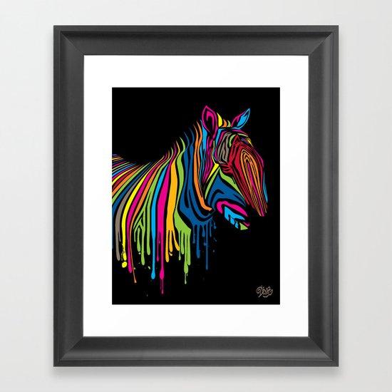 ZebrArt Framed Art Print
