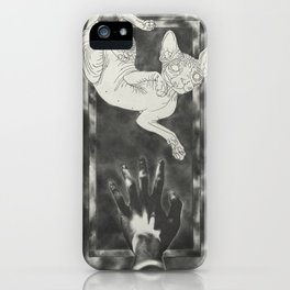Bete blanche iPhone Case