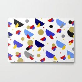 Go Confetti Metal Print
