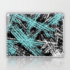 Desert Tracks Teal Laptop & iPad Skin