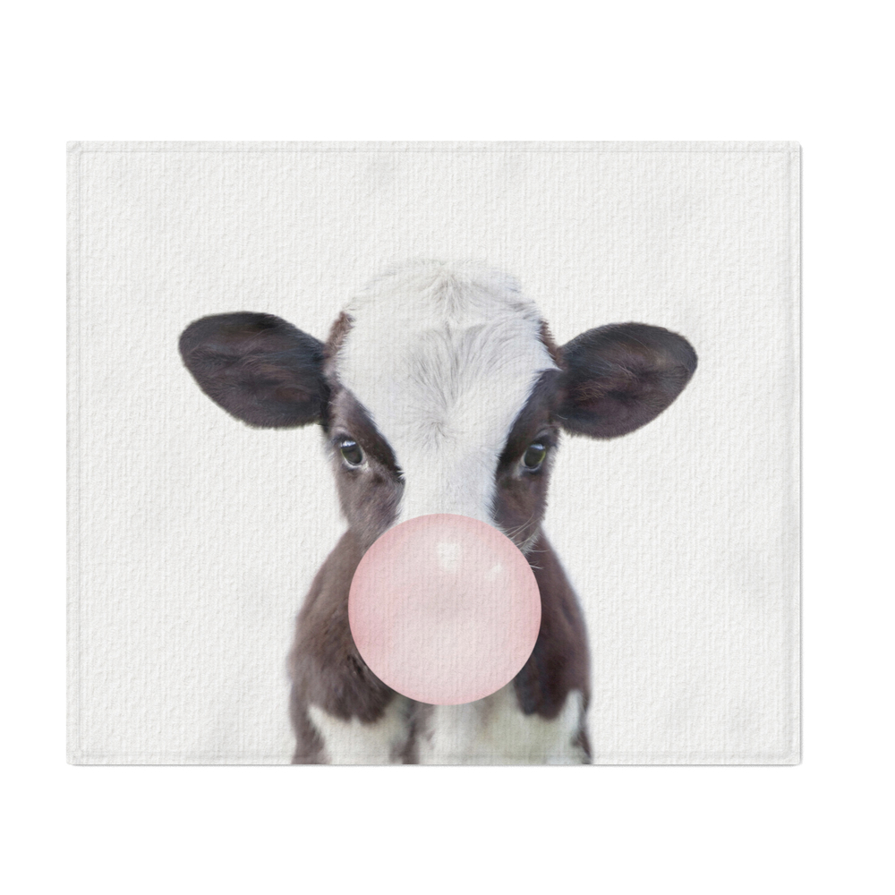 Bubble_Gum_Baby_Cow_Throw_Blanket_by_amypetersonartstudio