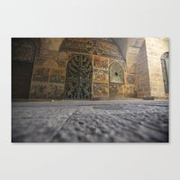 jewish Canvas Prints featuring Jewish Quarter by colLABorate: ideas & images