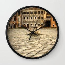 Venetian Ghetto Wall Clock
