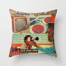 Retrica Throw Pillow