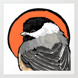 Bird no. 472: Lil Grump Art Print
