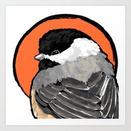 Bird no. 472: Lil Grump Art Print