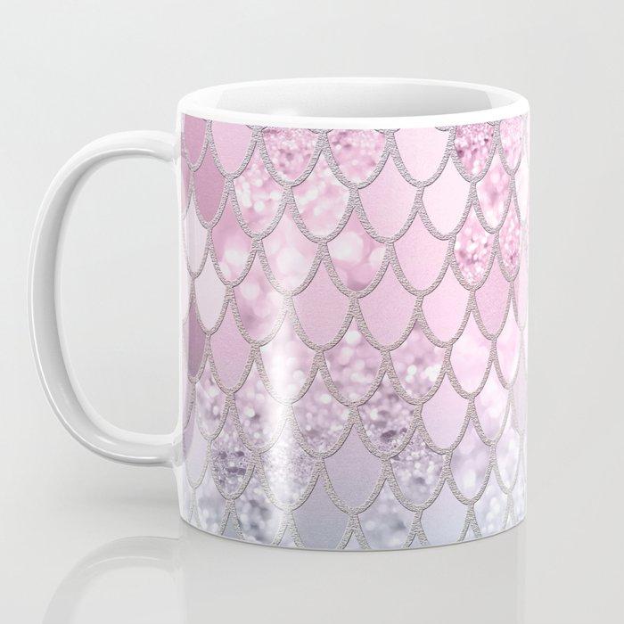 Mermaid Glitter Scales #2 #shiny #decor #art #society6 Coffee Mug