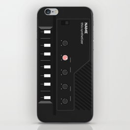 Analog Synth (Monotron) iPhone Skin