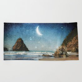 Oregon Moondust Beach Towel