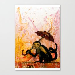 It's Raining  Canvas Print