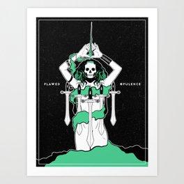 Flawed Opulence Art Print