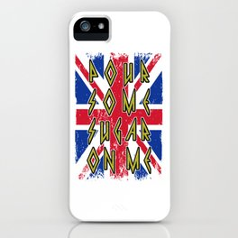 Pour Some Sugar On Me iPhone Case