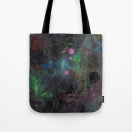 Midnight  Garden cycle23 2 Tote Bag