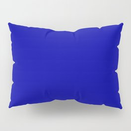 Simple Solid Color Earth Blue All Over Print Pillow Sham