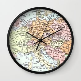 European tour Wall Clock