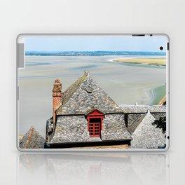 Mont Saint-Michel at low tide Laptop & iPad Skin