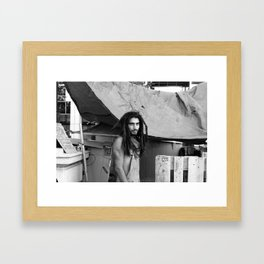 Actively protest me must Framed Art Print