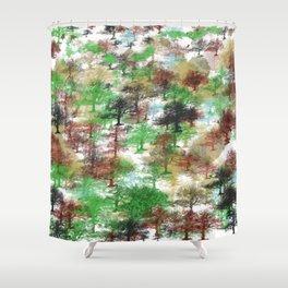 Oaks Pattern noproblem Shower Curtain