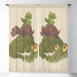 Swamp Squad Blackout Curtain