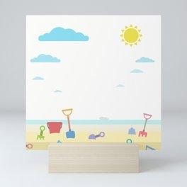 Summer is coming Mini Art Print