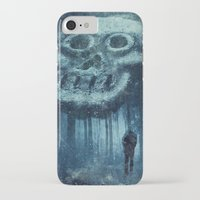 depression iPhone & iPod Cases featuring depression by Dirk Wuestenhagen Imagery
