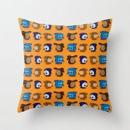 Street Sharks Throw Pillow