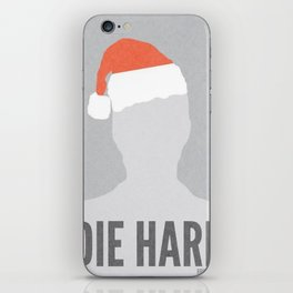 Die Hard Minimalist Poster iPhone Skin